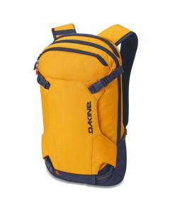 Dakine heli pack 12l golden glow snowboard backpack
