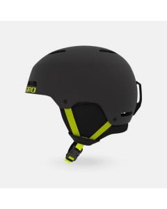 Giro ledge helmet matte warm black citron 2020