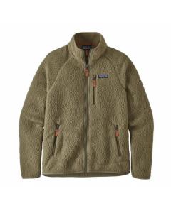 Patagonia retro pile fleece jacket sage khaki