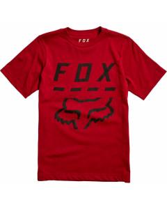 Fox racing youth highway ss tee cardinal 2020
