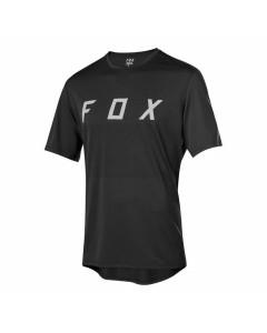 Fox racing ranger ss fox jersey black grey mtb