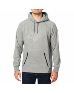 Fox racing refract dwr pullover hoodie heather grey 2020
