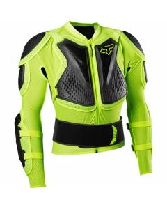 Fox racing giacca titan sport jacket fluo yellow