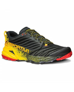 La sportiva akasha mountain running black yellow
