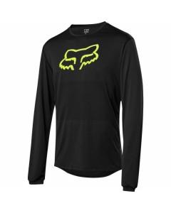 Fox racing ranger ls foxhead jersey black