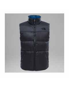 THE NORTH FACE NUPTSE III VEST ASPHALT GREY DOWN JACKET GILET PIUMINO FW 2018