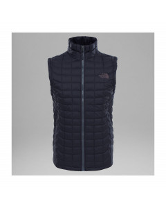 THE NORTH FACE THERMOBALL VEST TNF BLACK MATTE JACKET GILET SMANICATO FW 2018