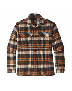 Patagonia fjord flannel shirt basin marigold