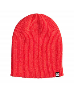Dc shoes clap beanie fiery coral