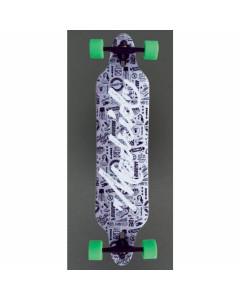 Madrid skateboards script tombstone 38.375'' longboard