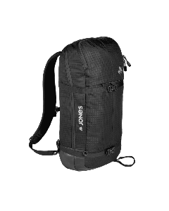 Jones dscnt black 19l splitboard snowboard backpack