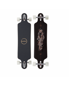 Madrid skateboards katar 39.5'' drop-thru stacked longboard