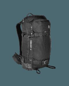 Jones dscnt black 32l splitboard snowboard backpack