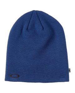 Oakley fine knit beanie dark blue