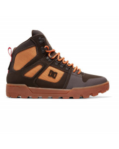 Dc shoes pure high wr boot chocolate brown