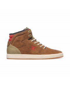 DC SHOES CRISIS HIGH WNT CHOCOLATE GREEN FW 2017