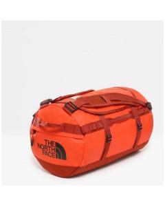 The north face base camp duffel s acrylic orange