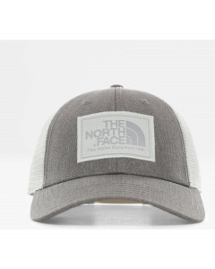 The north face mudder trucker hat tnf medium grey heather