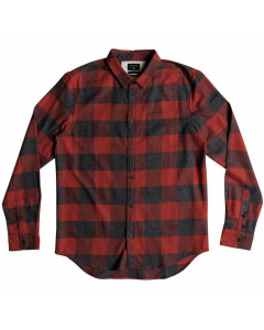 Quiksilver motherfly flannel barn red fw 2019