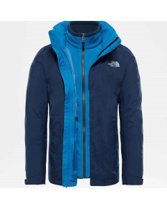 The north face evolution triclimate jacket urban navy