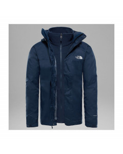 The north face evolve II triclimate jacket urban navy 3 in 1