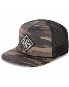 Dakine classic diamond trucker hat field camo