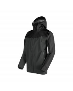 MAMMUT CRATER HS HOODED JACKET GRAPHITE BLACK 3L GORE-TEX FW 2018
