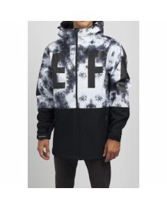 Neff daily softshell dwr jacket black white 2019