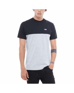 Vans colorblock Black Atheltic Heather t-shirt ss 2019