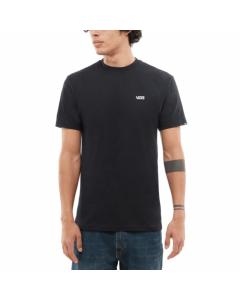 Vans left chest logo black t-shirt ss 2019