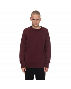 DC SHOES SABOTAGE RAGLAN SWEATER PORT ROYALE FW 2018 MAGLIONE