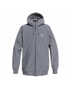 Dc shoes spectrum jacket neutral gray heather fw 2019