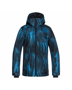 Quiksilver boys mission youth jacket blue fw 2019