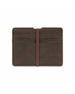 Quiksilver floker wallet chocolate brown