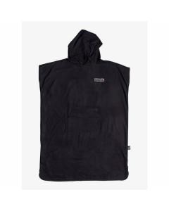 Quiksilver minipack towel black surf poncho