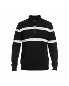 Quiksilver dude windblock sweater black fw 2019