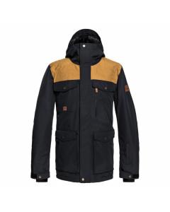 Quiksilver raft parka jacket black fw 2019