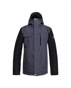 Quiksilver mission denim jacket dress blue fw 2019