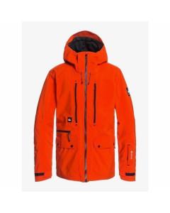 Quiksilver black alder 2l gore-tex jacket pureed pumpkin 2021