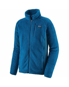 Patagonia m's R2 jacket andes blue