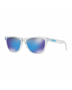 Oakley frogskins crystal clear prizm sapphire iridium