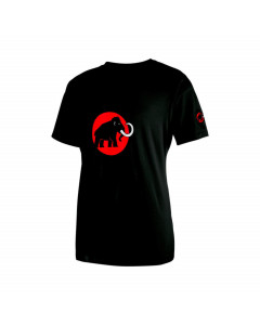 MAMMUT LOGO SHIRT BLACK INFERNO T-SHIRT