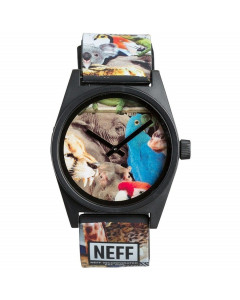 NEFF DAILY WILD WATCH WILDLIFE OROLOGIO FW 2016
