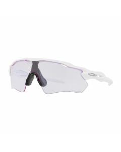 Oakley radar ev path polished white  prizm low light