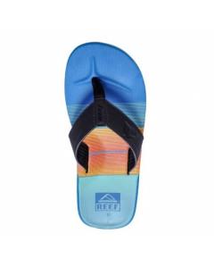 REEF HT PRINTS LIGHT BLUE RED BLUE SANDALS SS 2015