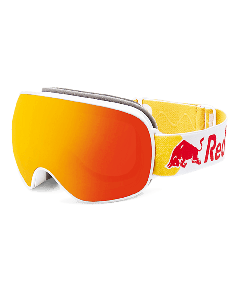 Red bull spect goggles magnetron white red snow orange wi