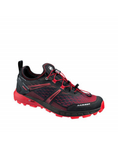 MAMMUT SERTIG LOW MAN BLACK MAGMA TRAIL RUNNING SHOES