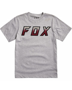 Fox racing youth hightail it ss tee light heather grey 2020
