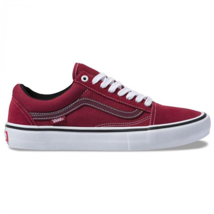 vans old skool pro red