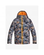 Quiksilver mission printed youth jacket flame wichita 2021